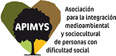 A.P.I.M.Y.S (Asociación para la integración medioambiental y sociocultural de personas con dificultad social) en el desarrollo socio cultural de zonas rurales y naturales desfavorecidas, facilitando la inserción de personas o colectivos con dificultad de inserción laboral.