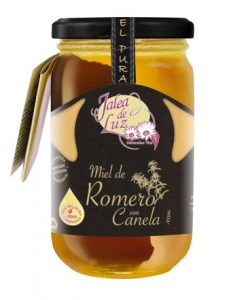 Rosemary honey with cinnamon, 500 gr