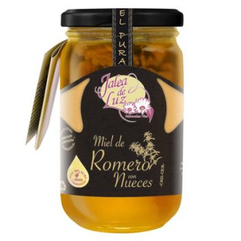 Rosemary honey with nuts 500 gr