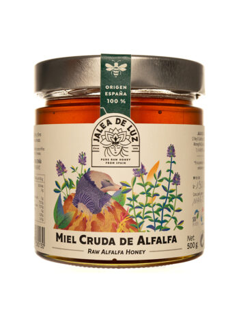 Miel de Alfalfa natural 500 gr