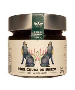 Miel de Brezo pura 250 gr