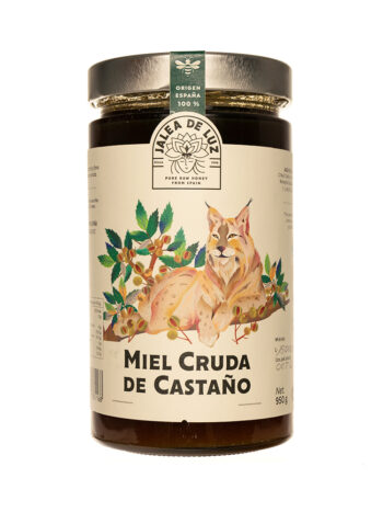 Miel cruda de Castaño 950 gr