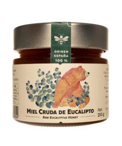 Miel de Eucalipto pura 250 gr