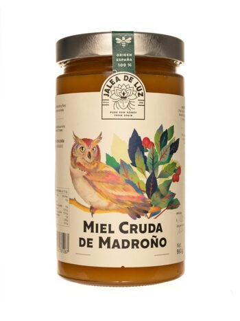 Miel cruda de madroño 950 gr