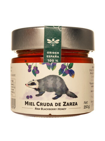 Miel de Zarzamora pura 250 gr