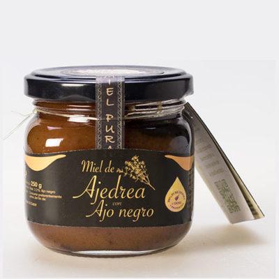 Miel de Ajedrea ajo negro 250 gr