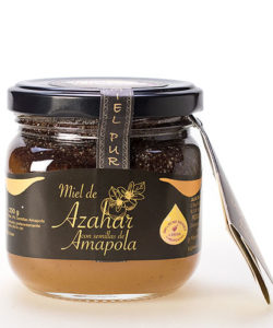 Rosemary honey with poppy seeds 250 gr