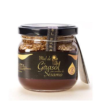 Sunflower Honey with sesame seeds 250 gr