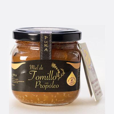 Miel de Tomillo con propóleo 250 gr