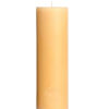 Vela cilindrica compacta 20 cm Pura cera Virgen