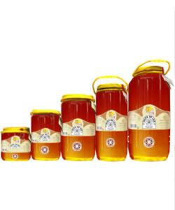 Miel cruda de Lavanda en garrafa